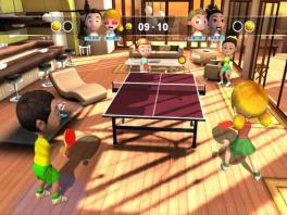 Niet alleen tennis, maar ook ping-pong!
