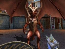 Vecht als een gladiator gewapend of ongewapend tegen andere gladiatoren en of monsters.