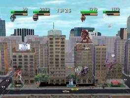 Ren voor je leven! Deze stad wordt aangevallen door 4 mega monsters!