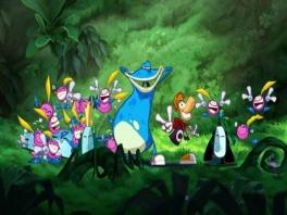 <a href = https://www.mario64.nl/Nintendo64_Rayman_2_The_Great_Escape.htm target = _blank>Rayman</a>, Lobox en de twee Teensies staan klaar voor een nieuw avontuur!