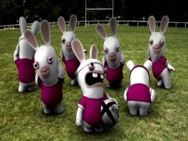 Wou dat mijn konijnen een keertje gingen voetballen...