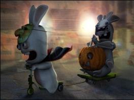 Ook de Rabbids vieren Halloween!