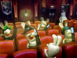 Je zal maar net in de bioscoop zijn als de Rabbids er ook zijn...