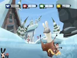 uhm... Snowboarden doe je op een board en niet op een dier! Haha!