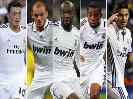 Speel met de sterren van Real Madrid.