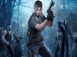 Je vecht je een weg door de zombies met Leon