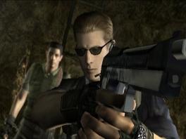 "Wesker: ""Chris, we gaan Jill redden"". Chris: ""Okay, mag ik dan jouw kekke zonnebril lenen?"""