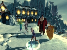 Rise of The Guardians: The Video Game: Afbeelding met speelbare characters