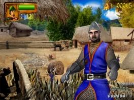 Als Robin Hood is het de bedoeling om de dorpelingen te helpen!