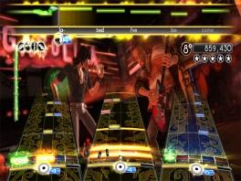 Rock Band is gemaakt door de oorsronkelijke ontwikkelaar van Guitar Hero: Harmonix