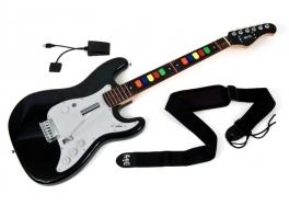 Ook beginnende gitaristen spelen makkelijk mee.