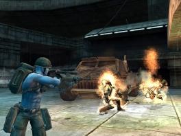 Uit angst vatten je vijanden spontaan vlam als je je <a href = https://www.mariowii.nl/wii_spel_info.php?Nintendo=Qware_Pistool_and_Shotgun>geweer</a> op ze richt!