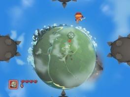 Wauw, planeten net als in <a href = https://www.mariowii.nl/wii_spel_info.php?Nintendo=Super_Mario_Galaxy>Super Mario Galaxy</a>!