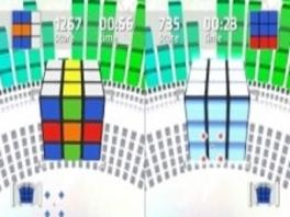 Ken je die leuke, gekleurde kubussen nog? Die spelen min of meer de hoofdrol in deze game.