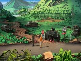 Dit spel bevat mooie 2D omgevingen.