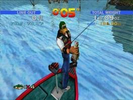 Strijd tegen andere vissers om de meeste en grootste baarzen te vangen!