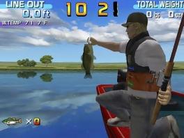Probeer in de tijd die je hebt zoveel mogelijk vissen te vangen.