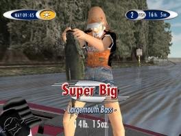 """""""Super Big"""" Inderdaad! Wat een mooie vangst!"""