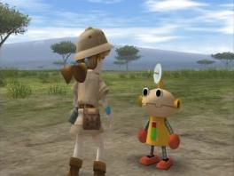 Speel als een wildlife fotograaf bijgestaan door de robot Robo-maru.