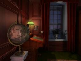 Hmm, die globe ziet er verdacht uit... misschien is daar een aanwijzing?