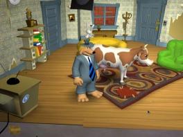 Max, ik geloof dat we in de buurt van die vermiste koe komen...