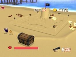Niet alleen bouw je een fort, ook ga je op zoek naar schatten en ga je in de weer met... krabben?