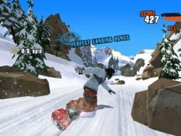 Perfecte landing, maar pas op voor de rotsblokken!