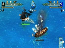 Ook de nodige zeeslagen maken in deze game hun opwachting