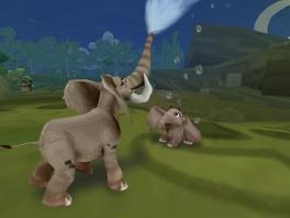 Behaal de doelen. Bijvoorbeeld het meer van de olifanten bijvullen! Zo is iedereen blij!