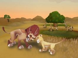 Reis naar verschillende gebieden waar ook verschillende dieren leven!