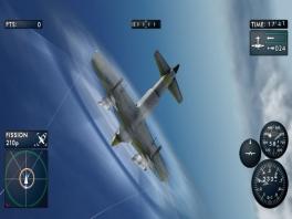 Door het maken van manoeuvres kun je je vijanden ontvluchten of juist achterna vliegen.