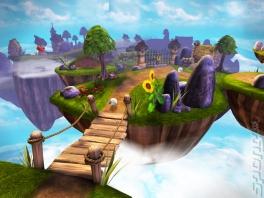 De werelden waar je kunt spelen zien er heel mooi uit.