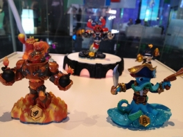 3 Swap Skylanders met de Portal of Power.