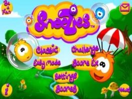 In dit spel draait het om deze kleurrijke balletjes, de <a href = https://www.mariowii.nl/wii_spel_info.php?Nintendo=Sneezies>Sneezies</a> genaamd.