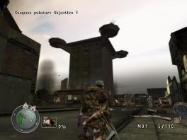 Snipers zijn altijd op hun hoede: ren dus nooit zomaar een pleintje over!