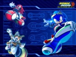 Race met Sonic en zijn vrienden of juist met zijn vijanden!