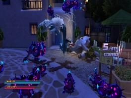 In werehog levels moet je vaak vijanden verslaan of spullen verzamelen.