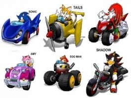 Wie kan jij aan? Tails, Shadow, Amy of Eggman.
