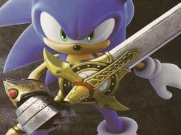 In dit spel van sonic speel je met een gevaarlijk zwaard: Excalibur.