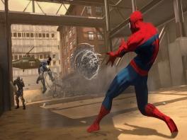 Peter Parker trekt het <a href = https://www.mariowii.nl/wii_zoeken.php?search=spider-man>Spiderman</a> pak aan om weer korte metten te maken met het gespuis.