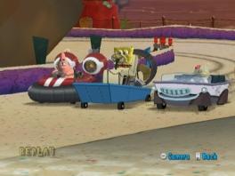 Speel met diverse karakters, zoals SpongeBob, Patrick, Sandy, Octo en Plankton.