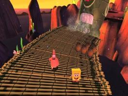 Zelfs in tijden van nood blijven SpongeBob en Patrick lachen.