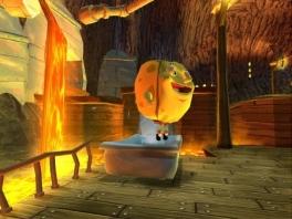 Zo ziet Spongebob eruit: als een spons met daarin veel water!