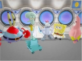 Speel met Mr Krabs, Octo,Sandy, Spongebob of Patrick!