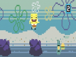 Sommige minigames geven (ook op het gebied van graphics) een typisch jaren '90-gevoel
