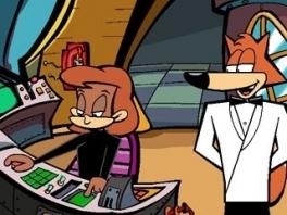 Is het een spion? Is het een vos? Nee, het is Spy Fox!