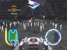 In een ruimte Tank rijden kan natuurlijk ook, want het is een fantasy spel.