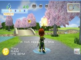 Mooie rustige kleurijke omgevingen vind je in deze game terug.