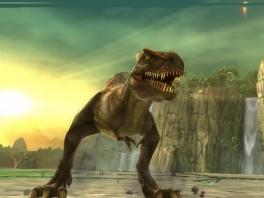 Vele dino-soorten zijn in het spel aanwezig, zoals onze geliefde Tyrannosaurus Rex