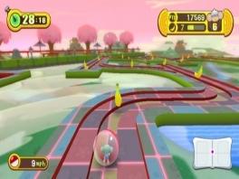 Deze keer kun je ook met het Wii Balance Board bananen verzamelen.